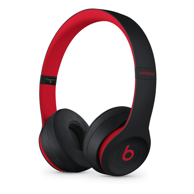 Beats Solo3 Wireless Decade Collection - Defiant Black-Red