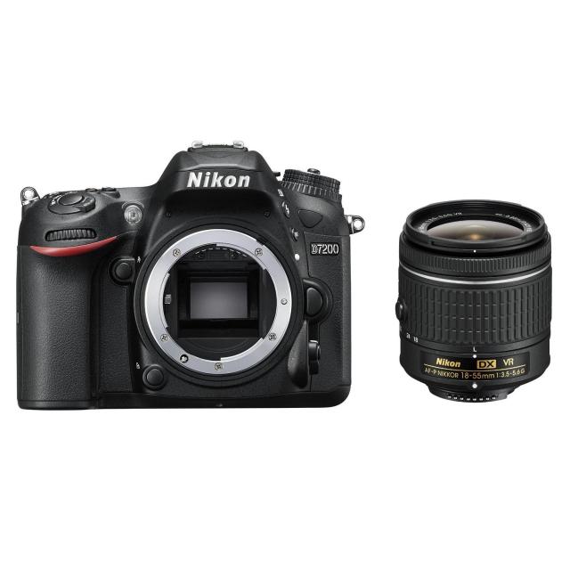 Nikon D7200 + 18-55 AF-P VR