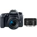 Canon EOS 77D + EF-S 18-55 IS STM + EF 50 f/1,8