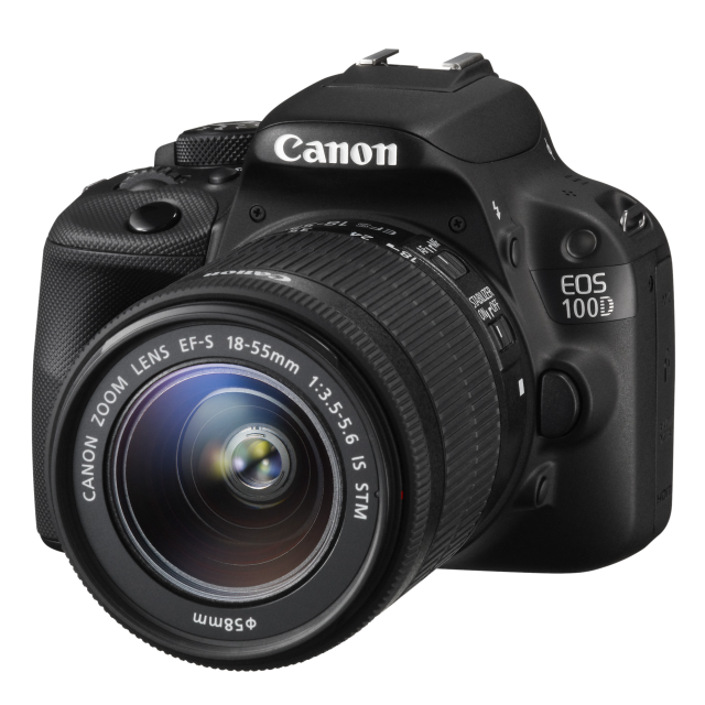 Canon EOS 100D+18-55 IS STM + 55-250 IS STM