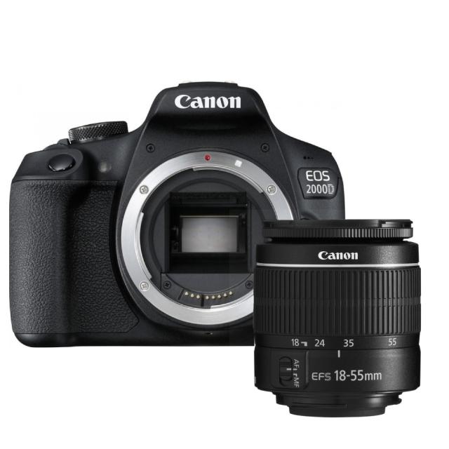 Canon EOS 2000D + Canon 18-55mm DC III