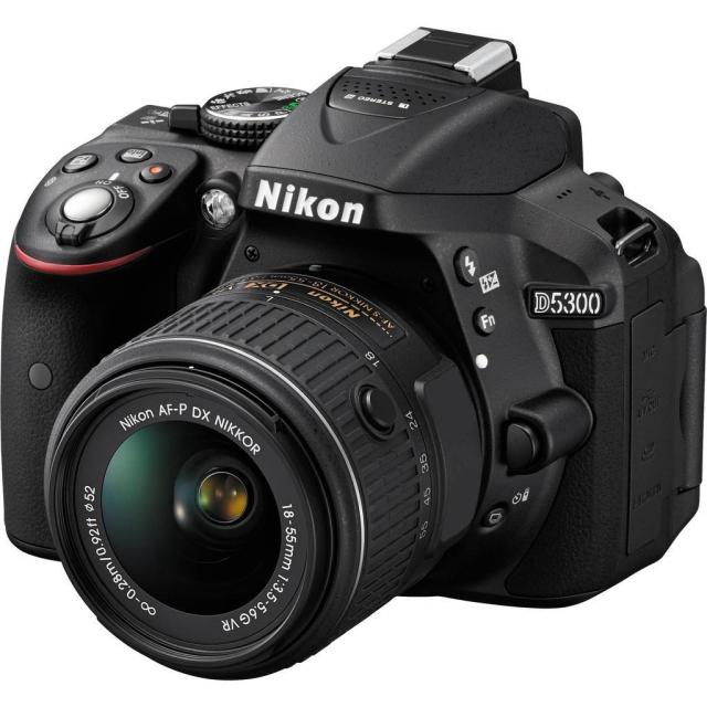 Nikon D5300 + 18-55 VR AF-P + 55-300 mm VR