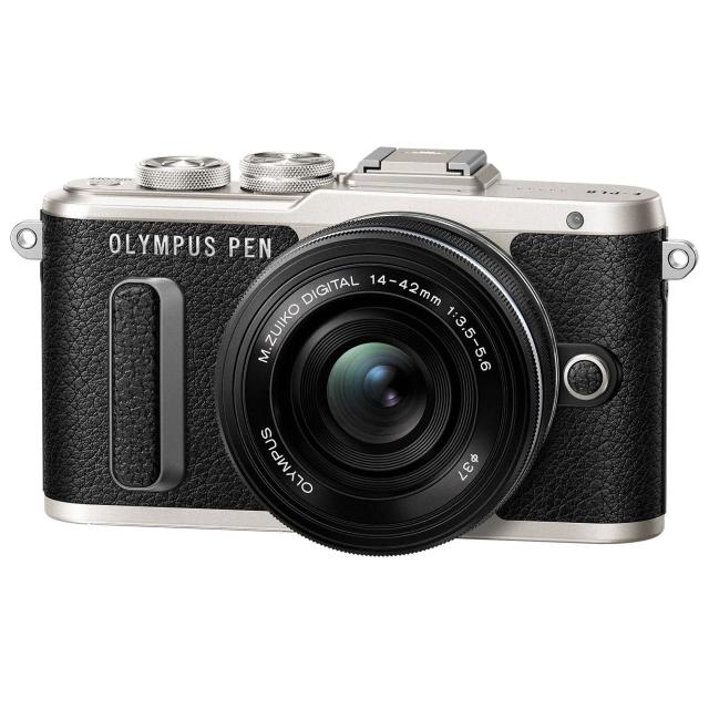 Olympus E-PL8 črna+ 14-42mm EZ
