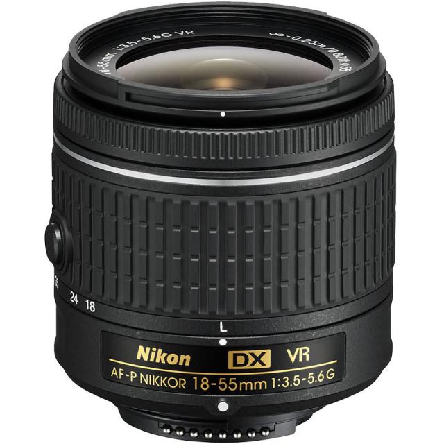 Nikon 18-55mm f/3,5-5,6G AF-P DX VR