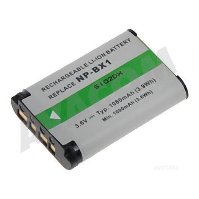 AVACOM NP-BX1 Li-ion 3.7V 950mAh
