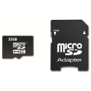 Memory Card SDHC 32GB Class 10 + Adapter
