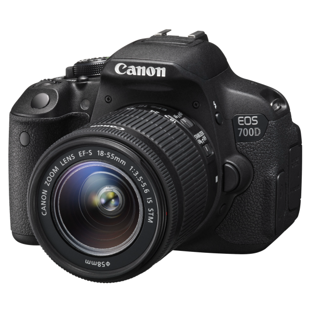Canon EOS 700D + 18-55 IS STM + 75-300 III