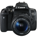 Canon EOS 750D + 18-55 IS STM + 75-300 III