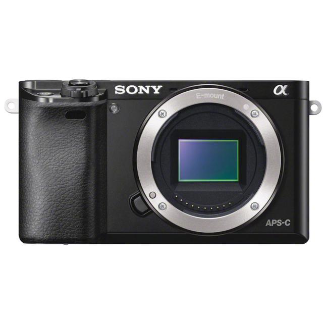 Sony Alpha A6000 body, black