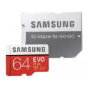 Samsung microSDXC Card 64 GB EVO Plus 100 MB/s (SD Adapter), MB-MC64GA