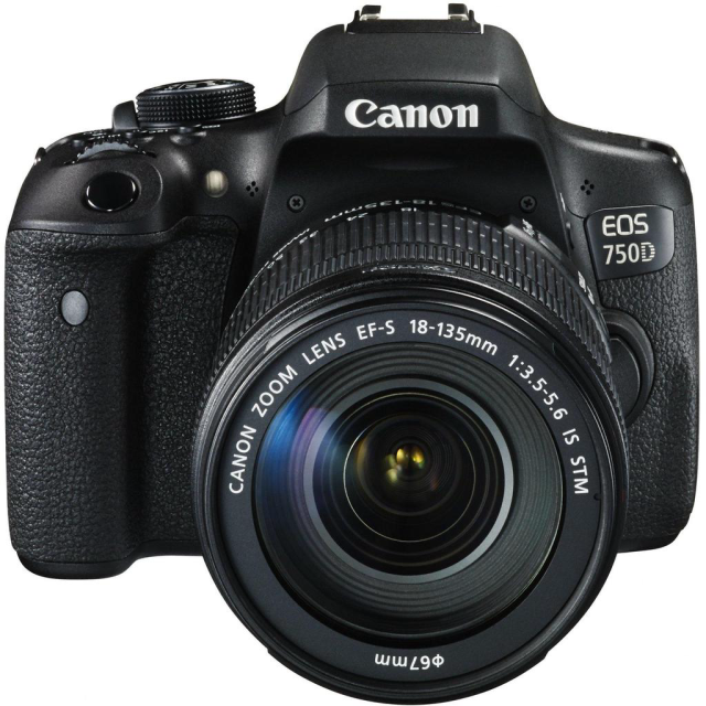 Canon EOS 750D + EF-S 18-135 IS STM - PACK REFLEX