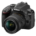 Nikon D3400 + 18-55 AF-P VR