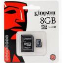 Kingston MICRO SDHC 8GB Class 10 + Adapter