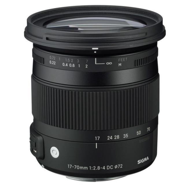 Sigma 17-70mm f/2,8-4 DC Macro OS HSM Canon