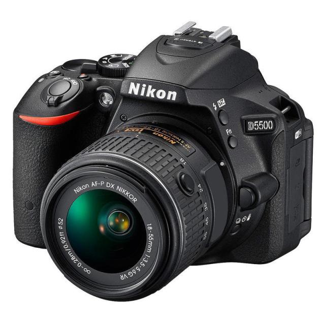 Nikon D5500 + 18-55 AF-P VR + 55-200 mm VR II