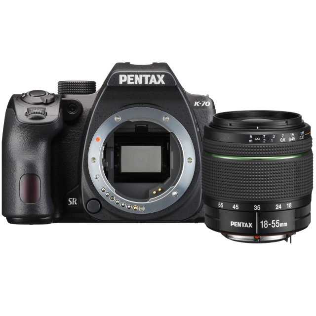 Pentax K-70 + 18-55 mm WR