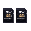 Karta SDHC 16GB Class 10 bulk - 2pcs