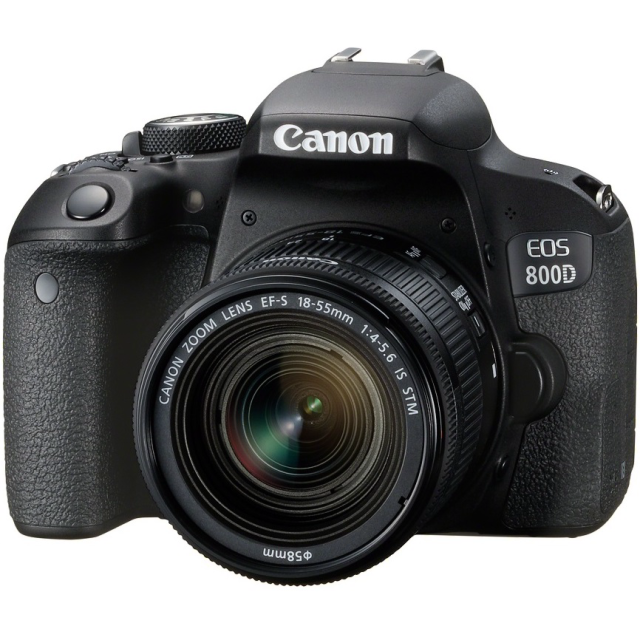 Canon EOS 800D + 18-55 IS STM + 55-250 IS STM