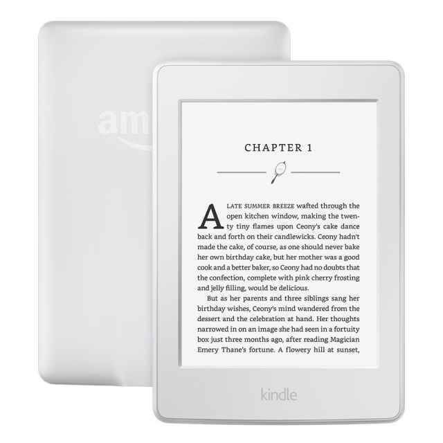 Amazon New Kindle Touch 2019, 4GB, White