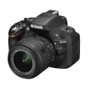 Nikon D5200 + 18-55 mm VR II + 55-300 mm VR