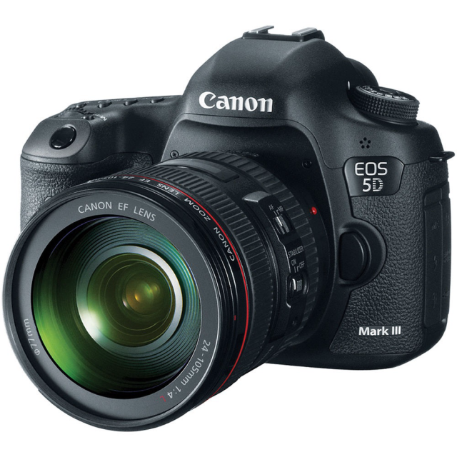Canon EOS 5D Mark III +  EF 24-105 f/4.0L IS USM