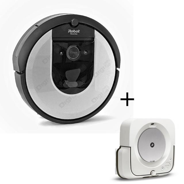 iRobot Roomba i7, + iRobot Braava Jet m6
