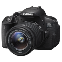 Canon EOS 700D + 18-55 IS STM + 55-250 IS STM