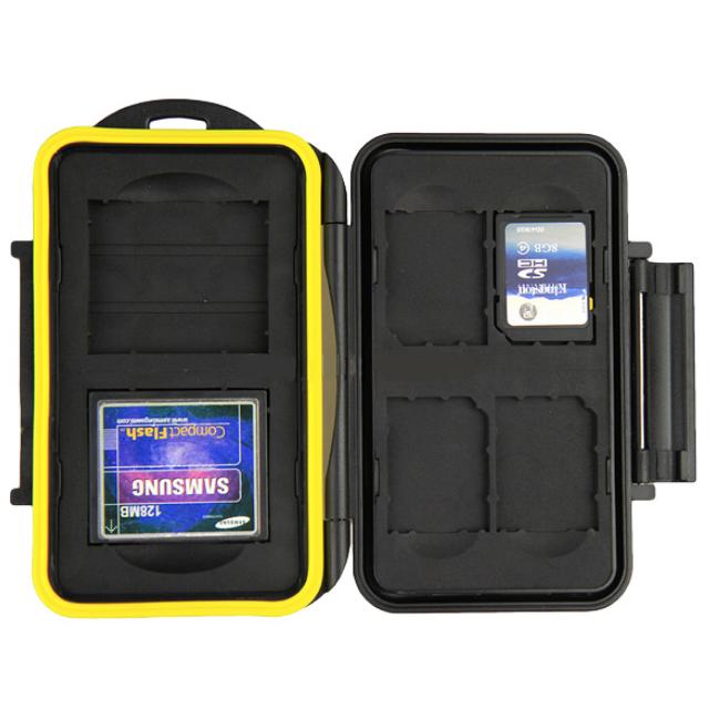 JJC MC-SD/CF6 Memory Card Case