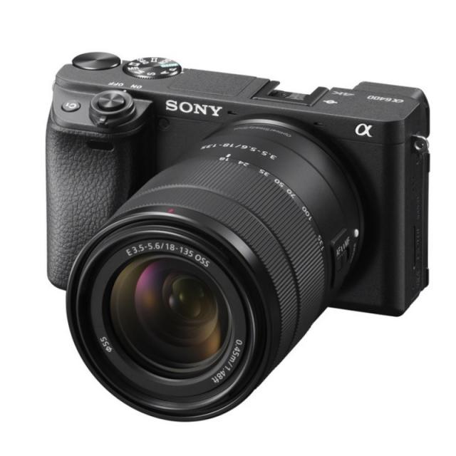 Sony Alpha A6400 + 18-135mm OSS Črna