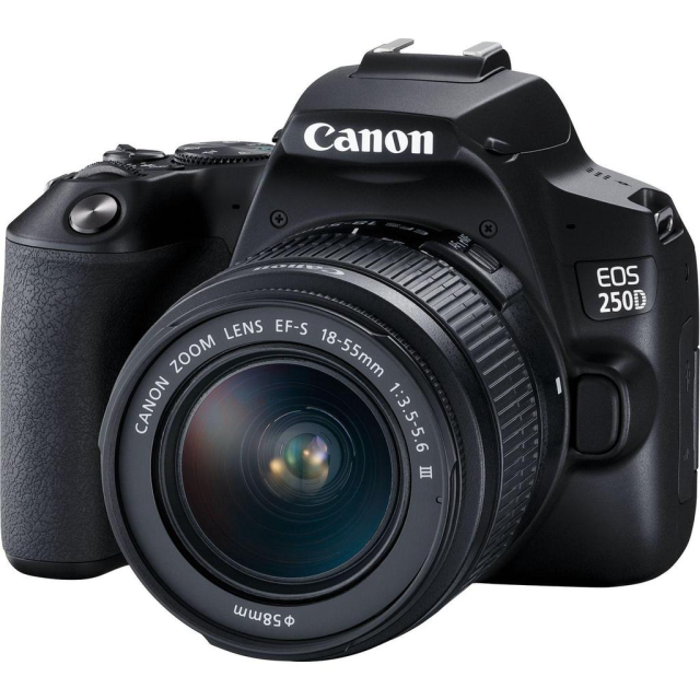 Canon EOS 250D + 18-55mm DC III