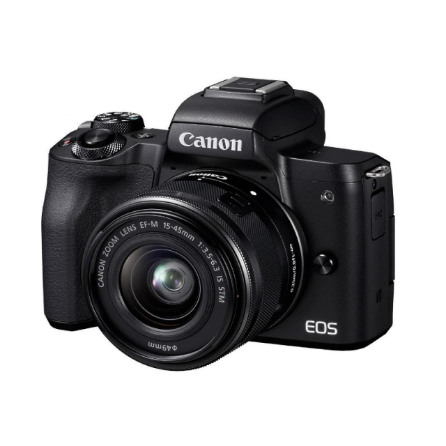 Canon EOS M50 + EF-M 15-45 IS STM