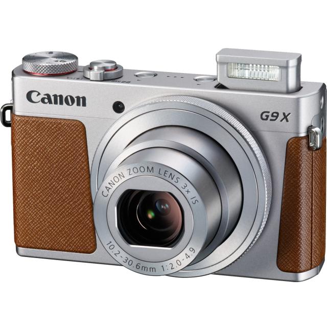 Canon PowerShot G9X, silver