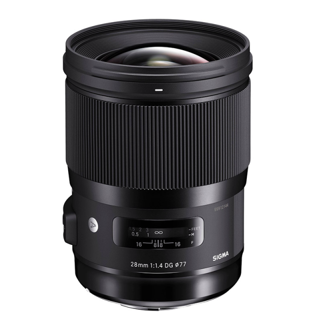 Sigma 28mm f/1,4 DG HSM Art Nikon