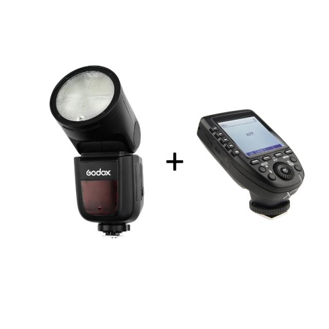 Godox V1C Canon + Godox Xpro-C For Canon