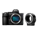 Nikon Z5 + FTZ adapter