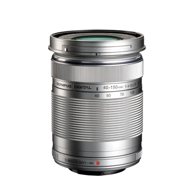 Olympus M.Zuiko ED 40‑150mm F4‑5.6 R Silver
