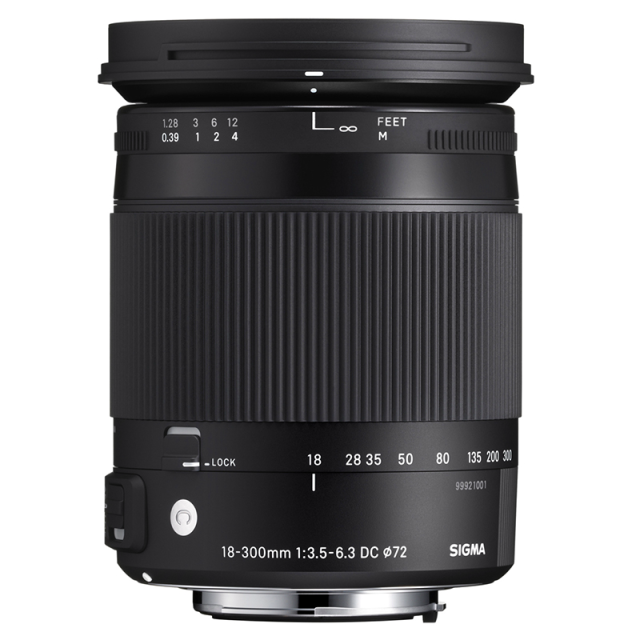 SIGMA 18-300 mm f/3,5-6,3 DC Macro OS HSM Canon