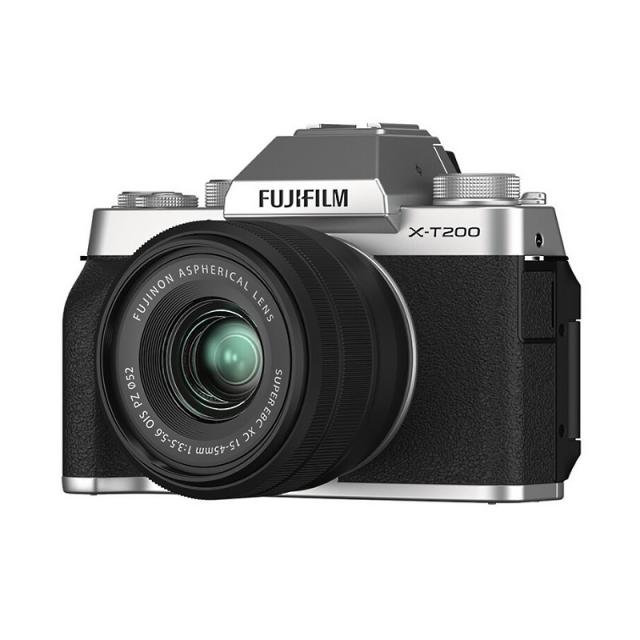 Fujifilm X-T200 + XC 15-45mm f/3.5-5.6 OIS PZ Silver