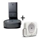 iRobot Roomba i3+  ( i3554) + Robot Braava Jet m6
