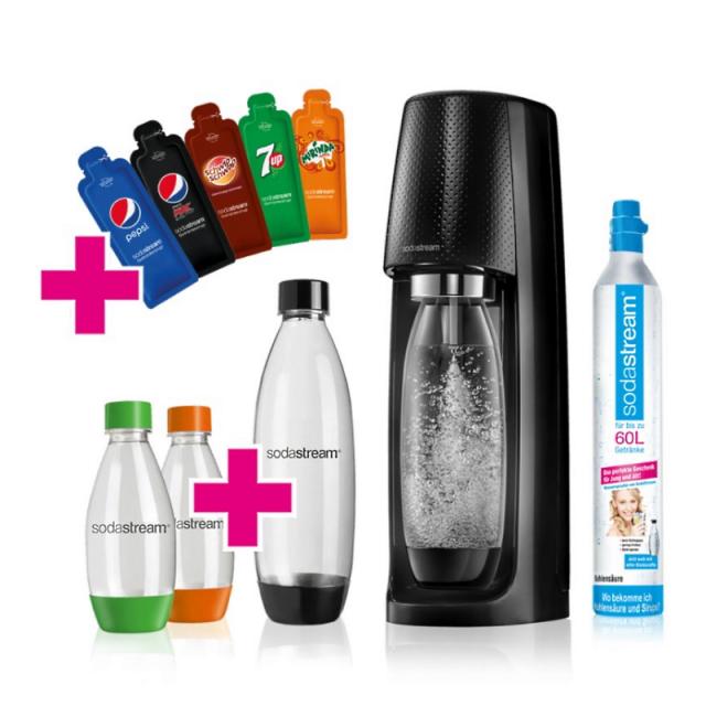 SodaStream Easy Black Pepsi Promopack