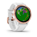 Garmin Fenix 6S PRO Glass, RoseGold/White Band.Picture2