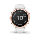 Garmin Fenix 6S PRO Glass, RoseGold/White Band.Picture3