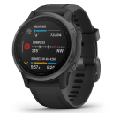 Garmin Fenix 6S Sapphire Gray/black band.Picture2