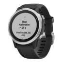 Garmin Fenix 6S Silver black/black band.Picture2