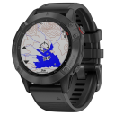 Garmin Fenix 6 PRO Glass black/black band.Picture2