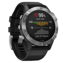 Garmin Fenix 6 Solar, Silver/Black Band.Picture2