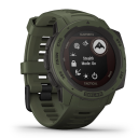 Garmin Instinct Solar, Tactical Edition, Moss.Picture2