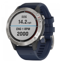 Garmin Quatix® 6 Gray with Captain Blue Band.Picture2