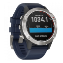 Garmin Quatix® 6 Gray with Captain Blue Band.Picture3